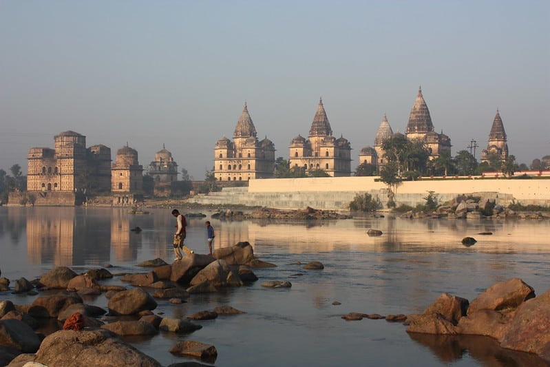solo female travel in Orchha India