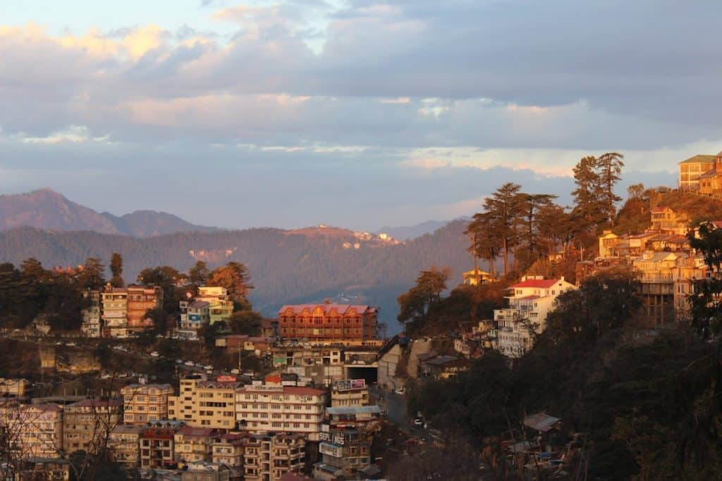 Solo female travel in Shimla India