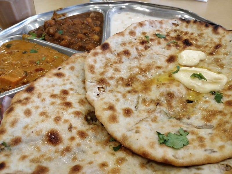 Amritsar street food - Amritsari Kulcha
