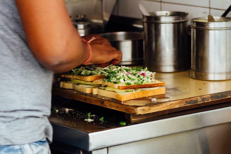 Mumbai Streetfood Bombay Sandwich