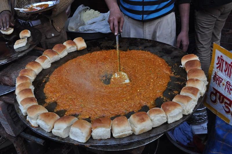 Best street food in Mumbai Pav Bhaji