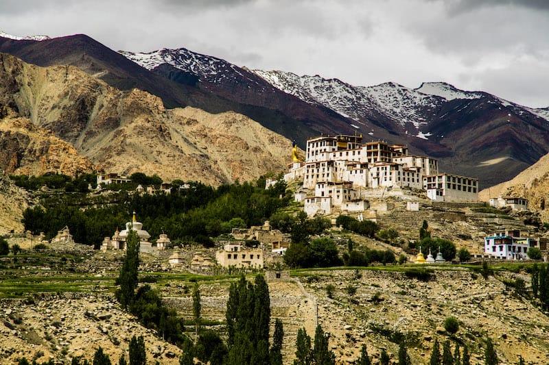 Lekir Monastery - travel in Ladakh