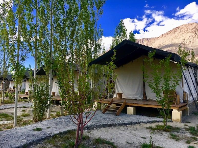Sustainable accommodation at Nubra Eco Lodge