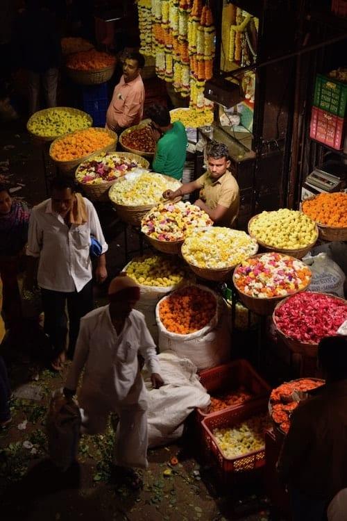 Dadar Flower Market Mumbai