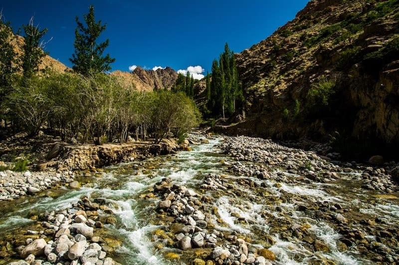 discovering the sham trek Ladakh