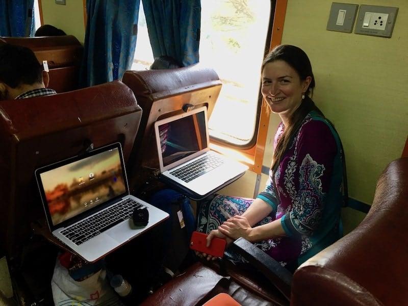 Shatabdi Express seating