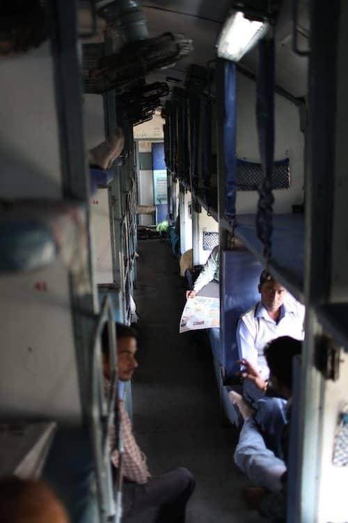 sleeper class indian railways