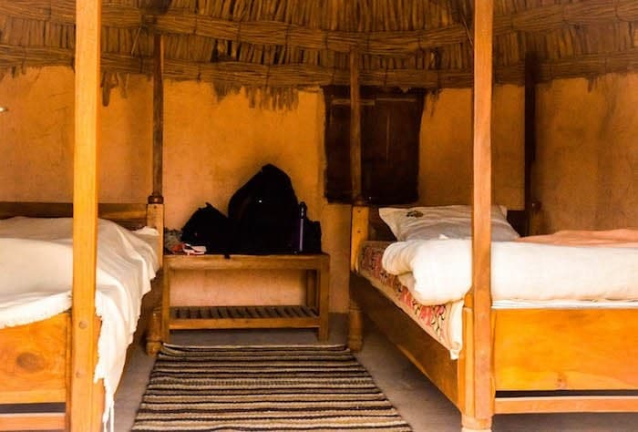 Hacra desert camp near jodhpur