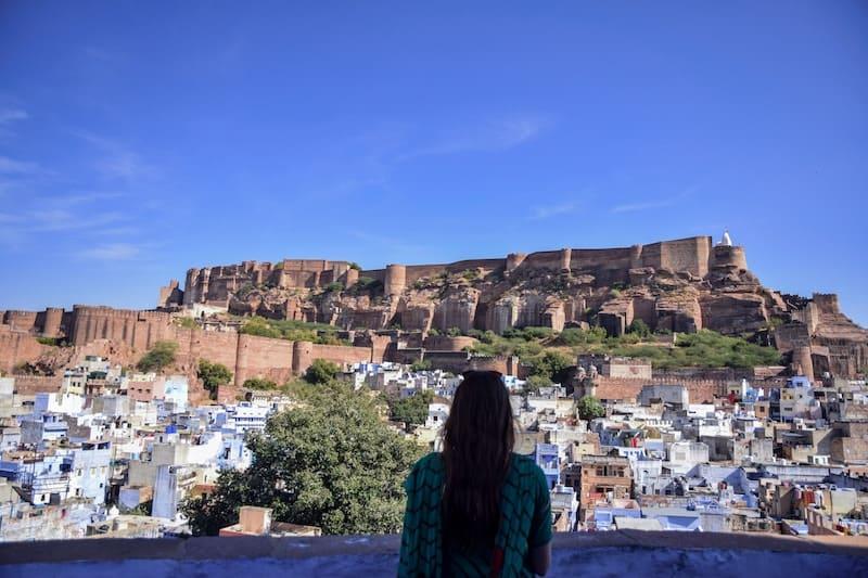 Blue city Jodhpur Rajasthan