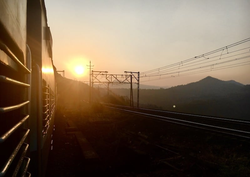 Maharashtra Mumbai railway journeys in India