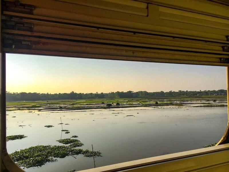 Kolkata to Dhaka by train