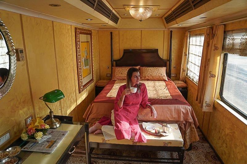 Palace on wheels luxury train journey India