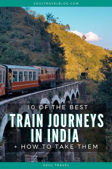 One of the essential travel in India experiences is train travel! Find out which are the best train journeys in India are, and how to take them in this handy guide! Save it for later for when you need it. #india #incredibleindia #traintravel