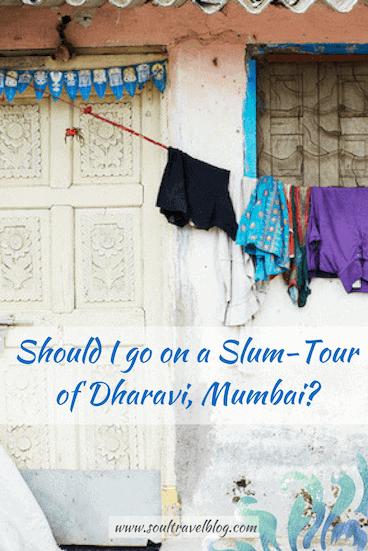 Ethical slum tour dharavi mumbai