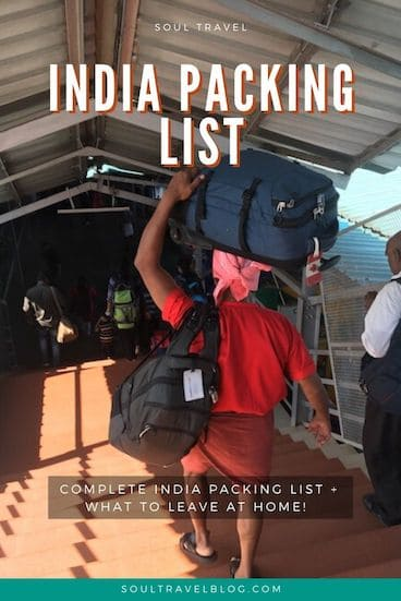 Planning a trip to India? Here are our top packing tips and India packing list - with everything you need for your #india trip! #indiatravel
