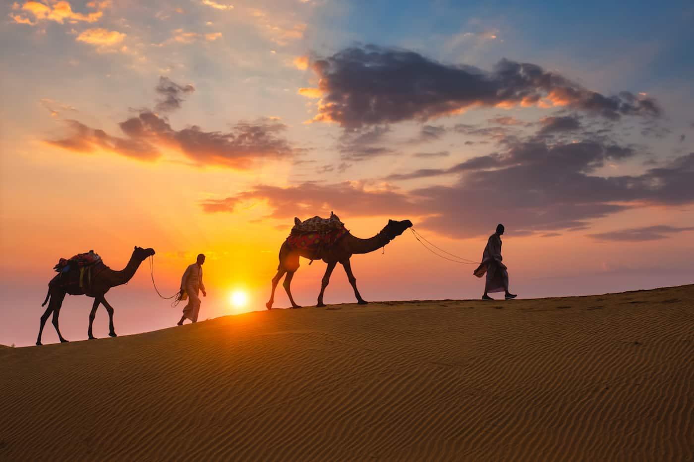 Rajasthan desert safari camp