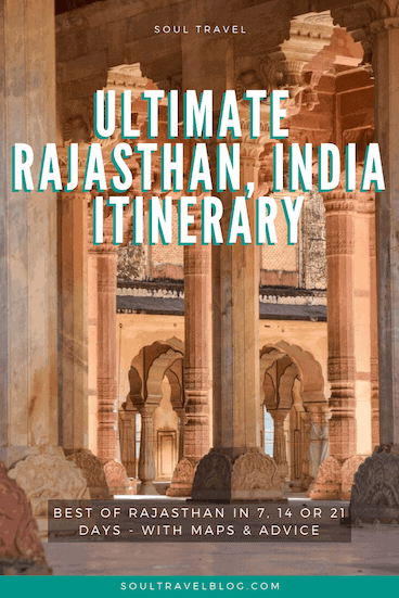 Rajasthan India travel itinerary. Planning a trip to #india? Our Rajasthan Itinerary in 7, 14 or 21 days has you covered, with all you need to know! #travel