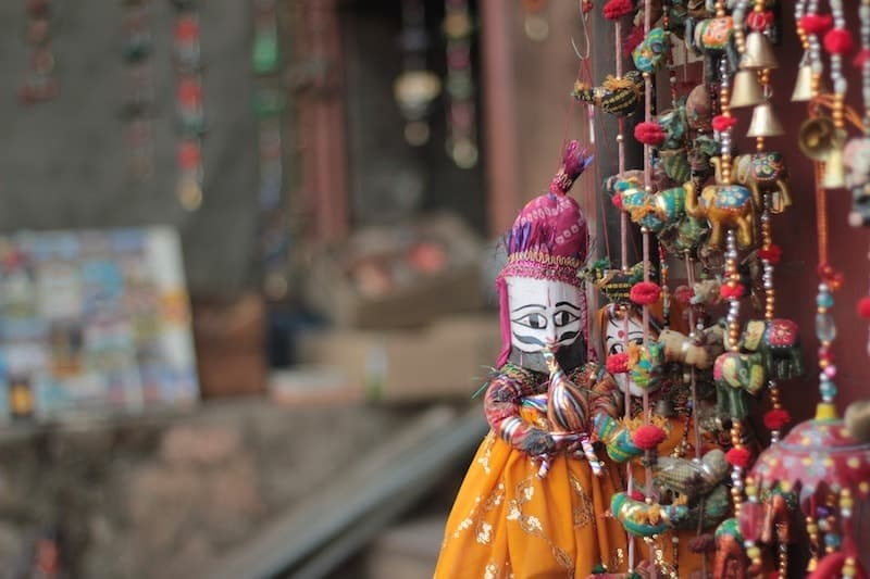 Rajasthan culture puppets