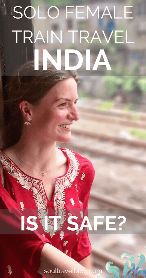 Planning solo female travel in India? Wondering about travelling by train in India as a solo female? Is train travel in India safe? Here are my top tips from months of experience travelling around India by train as a solo female traveller. Here's everything you need to know! Pin this post to one of your boards to find it later!
